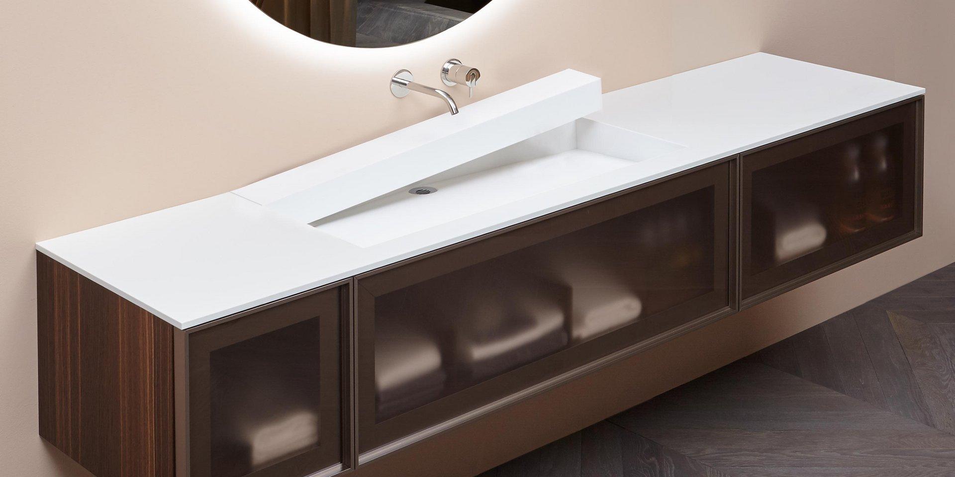 Piano Lavabo In Corian antoniolupi design - openslot